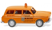 WIKING 4201 Notdienst - VW 1600 Variant   W.Roth   - emergency service - service secours