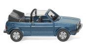 WIKING 4604 VW Golf I Cabrio - oceanic blue metallic