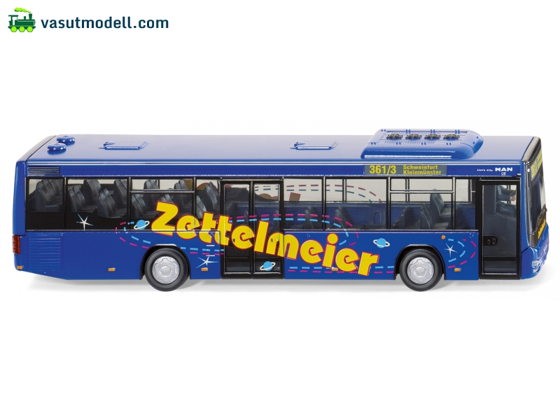 WIKING 70702 MAN Lion s City A78 Zettelmeier