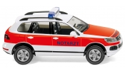 WIKING 7118 Notarzt - emergency vehicle - ambulance - VW Touareg