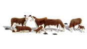 WOODLAND Scenics A1843 HO Hereford Cows