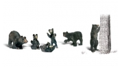 WOODLAND Scenics A2186 N Black Bears