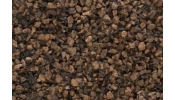 WOODLAND Scenics B85 Dk Brown Coarse Ballast (Bag)