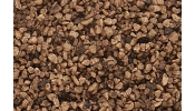 WOODLAND Scenics B86 Brown Coarse Ballast (Bag)