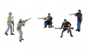 WOODLAND Scenics SP4445 American Civil War Soldiers